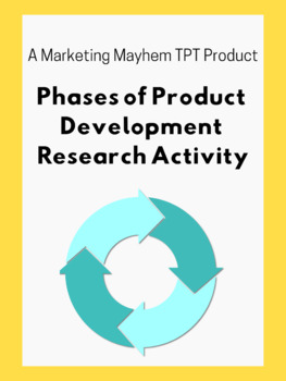 Phases of Product Development Research Activity