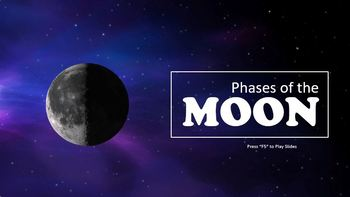Phases Of The Moon Powerpoint Free By Kids Fave Tpt