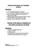 Phases of the Moon Activity
