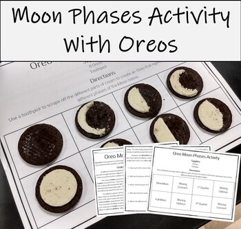 Phases of the Moon Activity (Modeling Moon Phases with Oreo's)