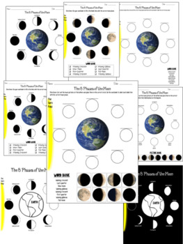 Phases of the Moon Activity Printables