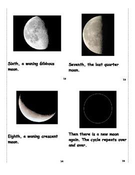Phases of the Moon Book