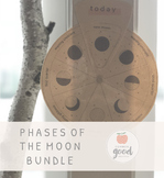 Phases of the Moon Bundle + Intention Setting Worksheet