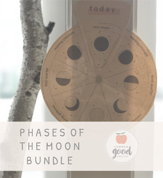 Phases Of The Moon Bundle Intention Setting Worksheet By Common Good