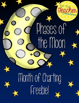 Phases of the Moon Chart Freebie!