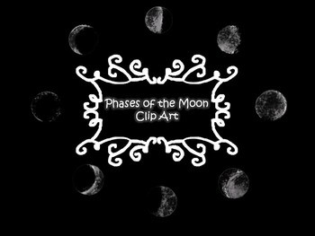 Phases of the Moon: Clip Art