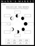 Phases of the Moon Cutout Worksheet