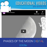 Distance Learning Phases of the Moon DIGITAL VIDEO LESSON