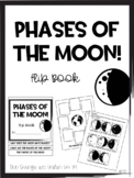 Phases of the Moon Flip Book!  Cut & Paste!  Find & Highli