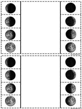 Phases of the Moon Foldable {Moon Phases}