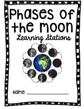 Phases of the Moon Unit using QR Codes