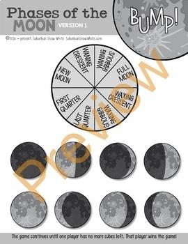 Moon Phases Lunar Bump Game