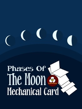 Moon Phases Hands-on Activity - Mechanical Card