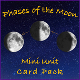 Phases of the Moon Mini Unit Card Pack - Early Education - Montessori Inspired