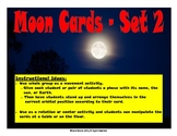 Phases of the Moon Movement Activity (Includes 3 different sets of cards)