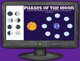Phases of the Moon Ordering - Distance Learning - Google Drawing