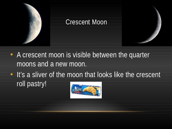 Phases of the Moon PPT Presentation