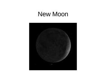 Phases of the Moon Power Point/Game