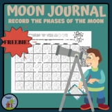 Phases of the Moon Recording Journal