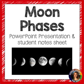 Phases of the Moon SMART notebook presentation