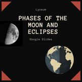 Phases of the Moon, Solar and Lunar Eclipses (Google slides)