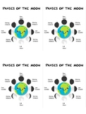 Phases of the Moon scratch-off cards