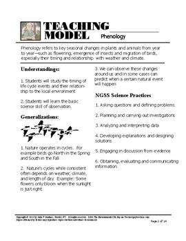 Phenology - The Study of Seasonal Change