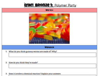 Phenomena Based Bundle: Polymers (Includes Two Labs)