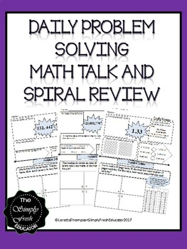 Phenomenal Daily Problem Solving/Spiral Review Warm Up!!! Beginning of School
