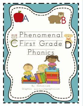 Phenomenal First Grade Phonics Based Spelling