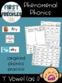 Phenomenal Phonics: Long Y as i