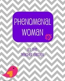 Phenomenal Woman (by Maya Angelou) poem questions
