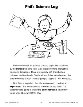 Phil's Science Log (Physical Science/Air, Experiments)