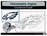 Philadelphia Eagles Coordinate Graph
