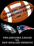 Morning Work:  Philadelphia Eagles win Super Bowl LII! Cha