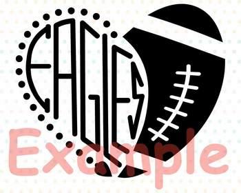Philadelphia Eagles clipart NFL nba mlb ncaaf sports School svg Sayings 717s