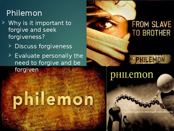 Philemon Power Point Notes