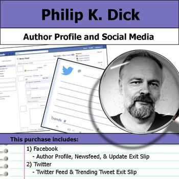 Philip K. Dick - Author Study - Profile and Social Media