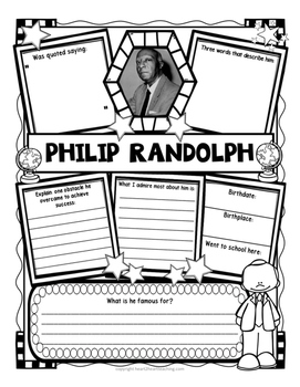 Philip Randolph Research Organizers for Projects