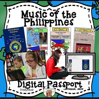 Philippines World Music Digital Passport
