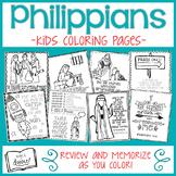 Philippians Kids Coloring Pages