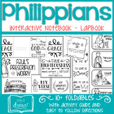 Philippians Interactive Notebook - Lapbook (K-6)