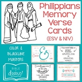 Philippians Memory Verse Cards