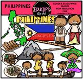 Philippines Clip Art Bundle {Educlips Clipart}