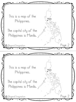 Philippines Country Study | 48 Pages for Differentiated Learning + Bonus Pages