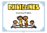 Philippines Project for Geography