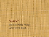 """Phillip Phillips' """"Home"""" Song Parody about Ancient Israel Powerpoint"""