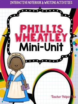 Phillis Wheatley- Black History Month Activity