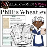 Phillis Wheatley   Black Women in History