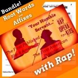 Phillis Wheatley Root Words, Prefixes, Suffixes Worksheets & Activities w/ Song